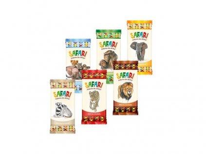 Safari mléčná čokoláda pro děti 20g Carla