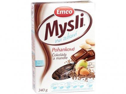 Mysli Pohankové - Čokoláda a mandle 340g Emco