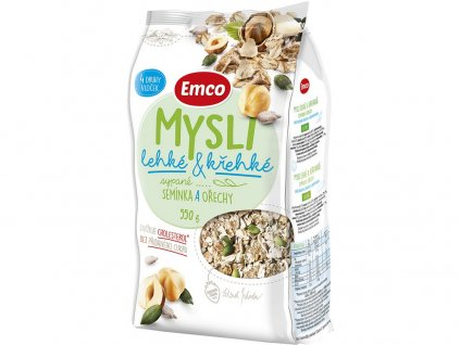 Mysli - sypané lehké a křehké semínka a ořechy 550g Emco