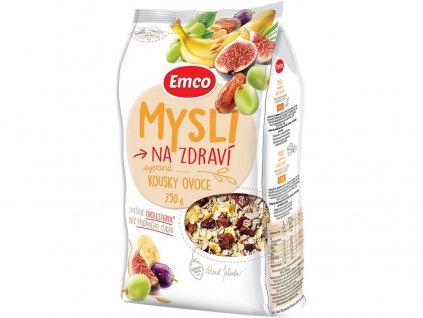 Mysli - Sypané s kousky ovoce 750g Emco