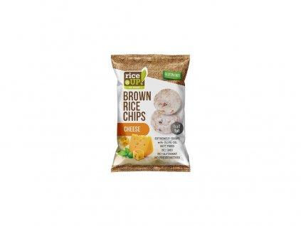 Rýžové chipsy se sýrem 60g Rej