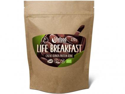 Bio Life breakfast Kaše kakaová s quinoou 270g Lifefood