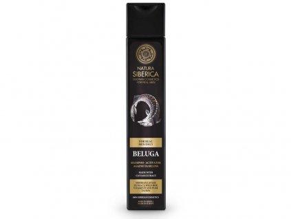 MEN Šampon pro růst vlasů - Beluga 250ml Natura Siberica