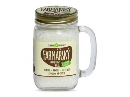 Farmářský kokosový olej 400ml Purity Vision