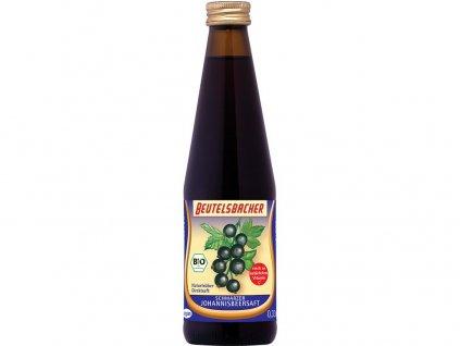 Bio šťáva z černého rybízu Beutelsbacher 0,33 l Beutelsbacher