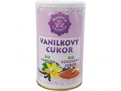 Bio kokosový cukr vanilkový - cukřenka 100g Altevita