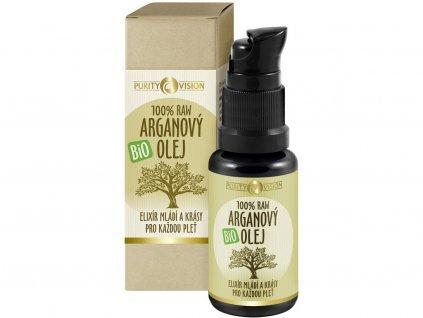 Bio arganový olej 30 ml Purity Vision