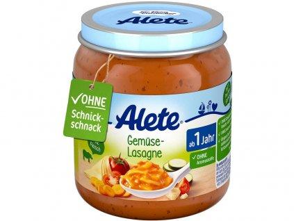 Příkrm - Zeleninové lasagne 250g Allete