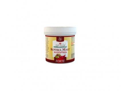 Koňská mast FORTE hřejivá 250 ml Herbamedicus