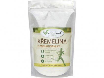 Křemelina s příchutí vanilky 250g  Vitatrend
