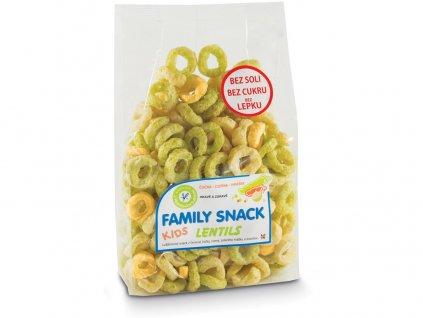 Family snack Lentils 120g Family snack