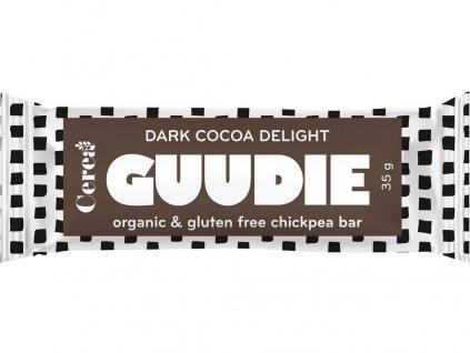 Bio tyčinka s cizrnou Guudie kakao 35g Cerea