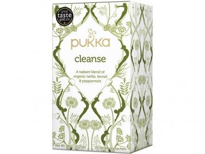 Bio čaj Cleanse Čistící 20x1,8g Pukka