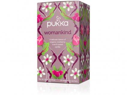 Bio čaj Womenkind Harmonie pro ženy 20x1,5g Pukka