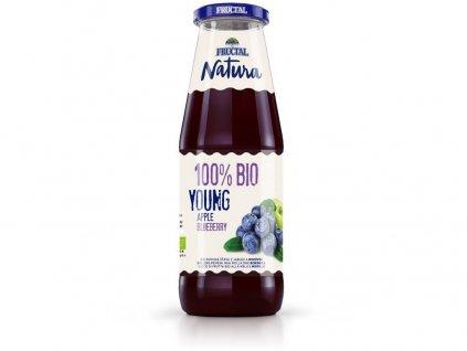 Bio Šťáva NATURA borůvka 0,7l Fructal