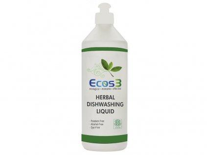 Bylinný tekutý prostředek na nádobí 500 ml ECOS3