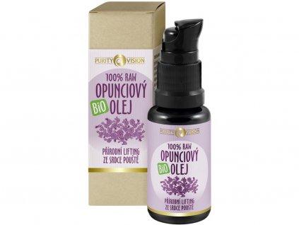 Bio Opunciový olej raw 15ml Purity Vision
