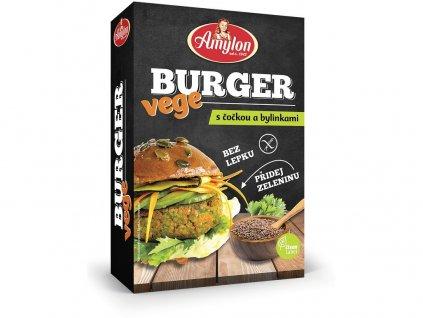 Vege Burger s čočkou a bylinkami 125g Amylon