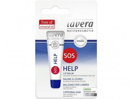 Bio balzám na rty SOS 8ml Lavera