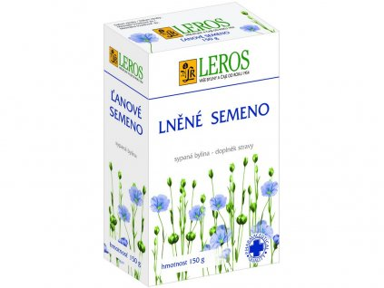 Lněné semeno 150g Leros