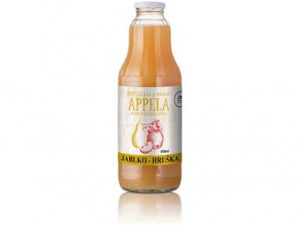 Jablko - hruška 1l - 100% přírodní šťáva Appela