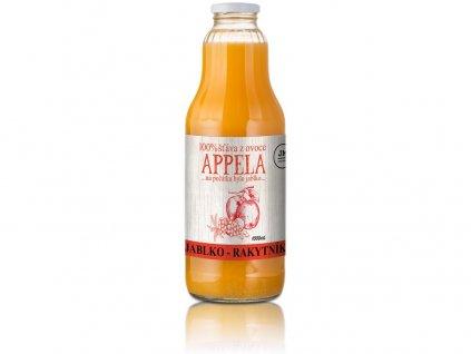 Jablko - rakytník 1l - 100% přírodní šťáva Appela