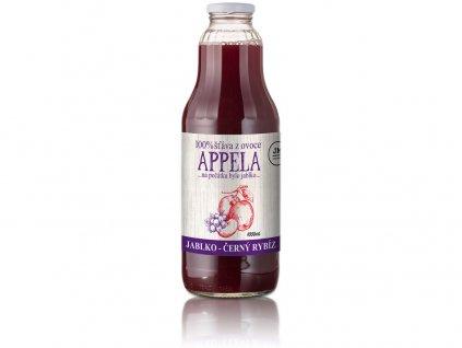 Jablko - černý rybíz 1l - 100% přírodní šťáva Appela