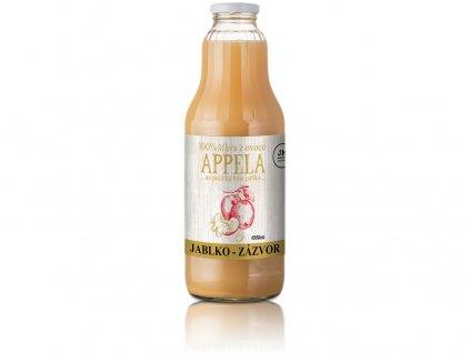 Jablko - zázvor 1l - 100% přírodní šťáva Appela