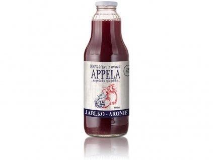 Jablko - arónie 1l - 100% přírodní šťáva Appela