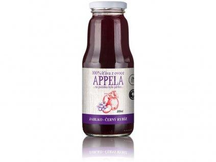 Jablko - černý rybíz 0,3l - 100% přírodní šťáva Appela