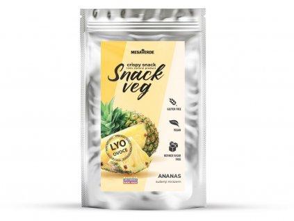 Zdravé ovoce - lyofilizovaný ananas 35g Heathy Snack