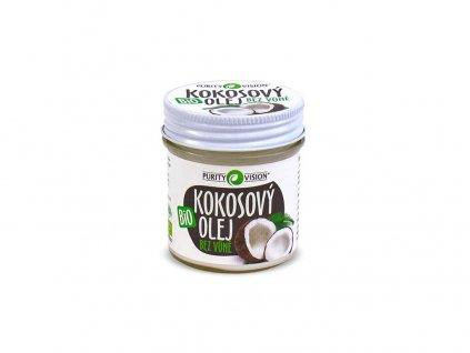 Bio Kokosový olej bez vůně 120ml Purity Vision