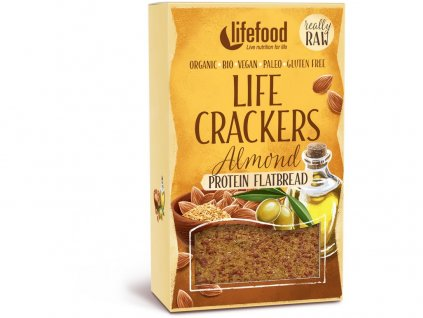 Bio Life crackers Chlebánek 80g Lifefood