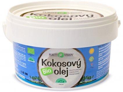 Bio Kokosový olej panenský 2,5l Purity Vision