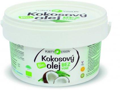 Bio Kokosový olej bez vůně 2,5l Purity Vision