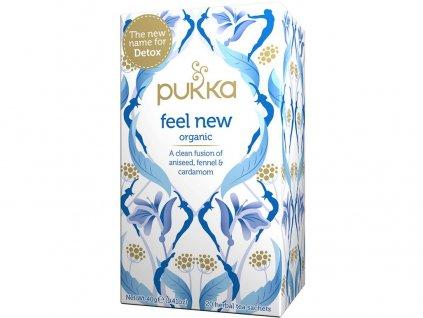 Bio čaj Detoxikační Detox feel new 20x2g Pukka