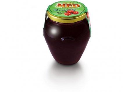 Med s ovocem brusinkový 400g Jankar Profi