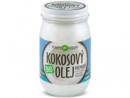 Bio Kokosový olej prémiový 420ml Purity Vision