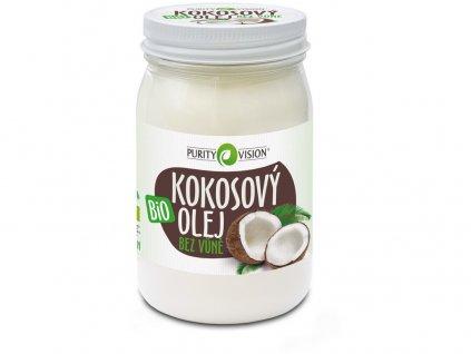 Bio Kokosový olej bez vůně 420ml Purity Vision
