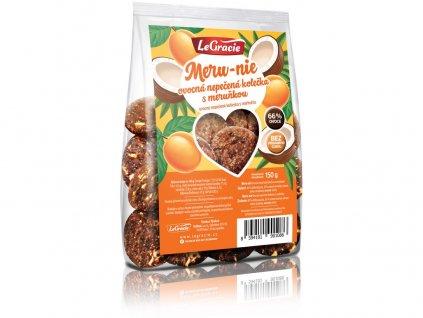 Ovocné nepečené sušenky Meru-nie 150g LeGracie
