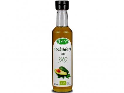 Bio Avokádový olej 250ml 4Slim