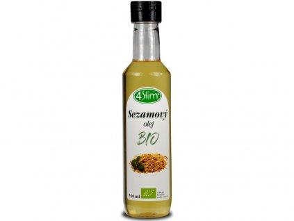 AKCE - Bio Sezamový olej 250ml, min. trv. 31.5.2020 4Slim