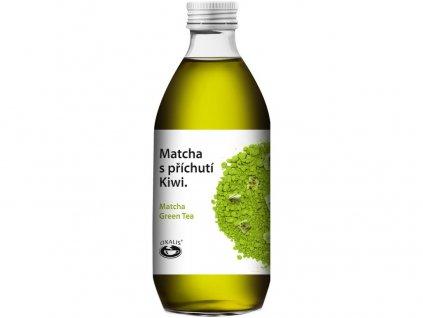 Ledový nápoj Matcha s příchutí Kiwi 330 ml Oxalis