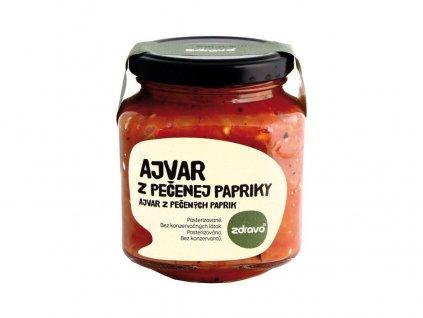 Ajvar z pečené papriky 300g Zdravo
