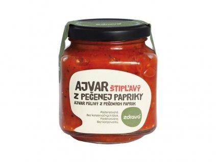 Ajvar z pečené papriky pálivý 300g Zdravo