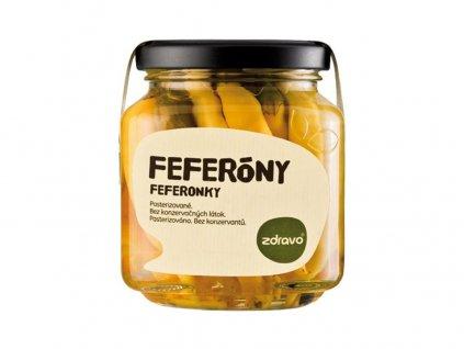 Feferonky 290g Zdravo