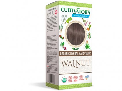 Bio přírodní barva na vlasy 100% 11 - Hnědá oříšková 100g Cultivator