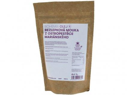 Mouka z ostropestřce mariánského 250g Bohemia olej