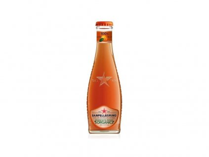 Bio Limonáda červený pomeranč 200ml San Pellergino