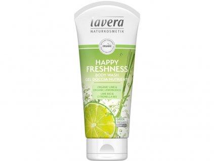 Sprchový gel Happy Freshness 200ml Lavera